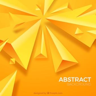 Абстрактный фон с треугольными фигурами