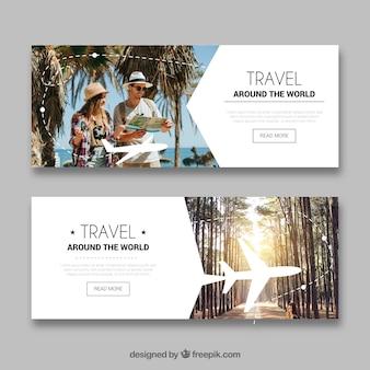 Рекламные баннеры с фотографией
