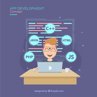 Концепция разработки приложений с плоской конструкцией
