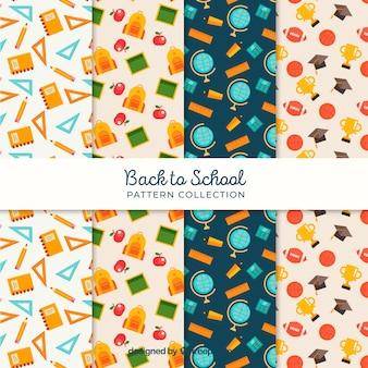 Назад к коллекции шаблонов школ с различными элементами