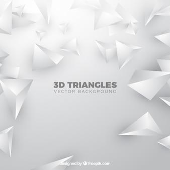 三色の三角形の背景色
