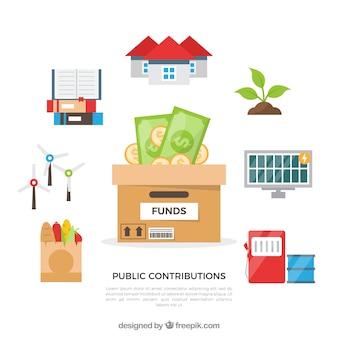 公的貢献のコンセプト