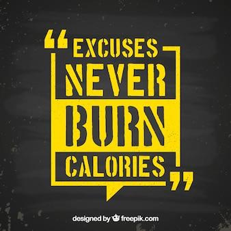 Мотивационная цитата фона в желтом цвете