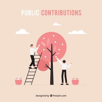 Концепция общественных вкладов