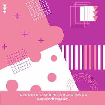 幾何学的形状を持つ抽象的な背景