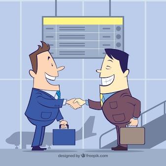チームワークのビジネスコンセプトベクトル