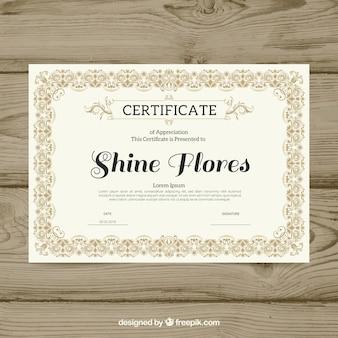 Граница декоративного сертификата