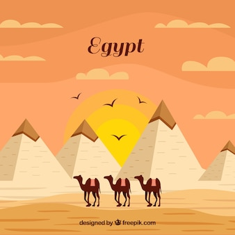 Египетский пирамид фон