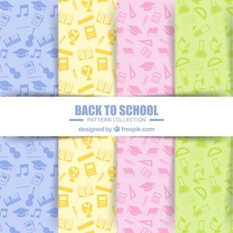 要素を含む学校パターンコレクションに戻る