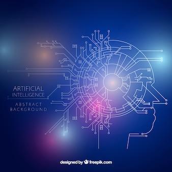 抽象スタイルの人工知能の背景