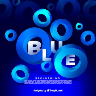 Голубой фон с фигурами