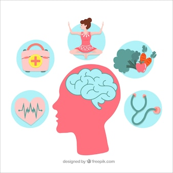 Концепция психического здоровья, направленная руками