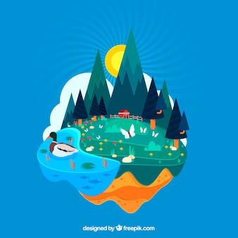 持続可能な開発と生態系コンセプト