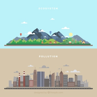 生態系と公害の概念