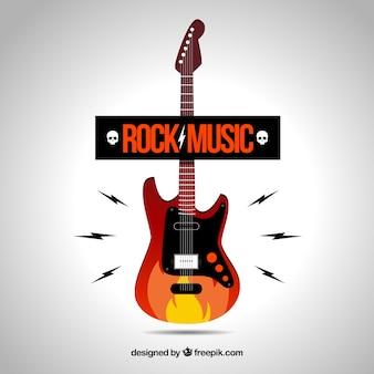 ロックミュージックのロゴ