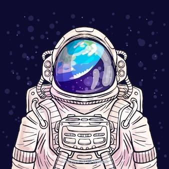 Современный персонаж космонавта