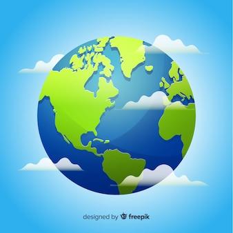 地球の背景