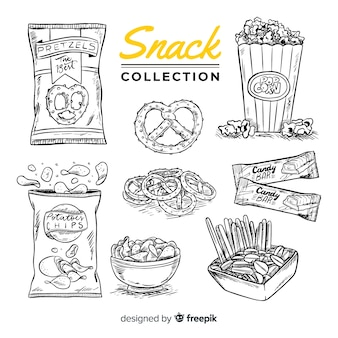 Выбранная вручную коллекция закусок