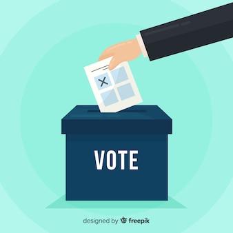 Концепция голосования и выборов с полем