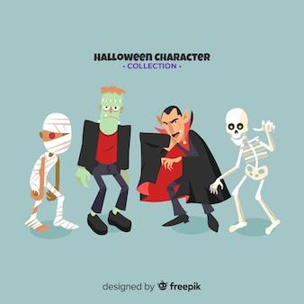 Коллекция персонажей хэллоуина