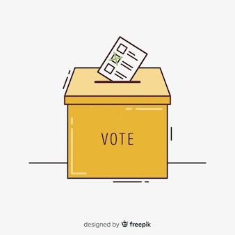 選挙区のコンセプト