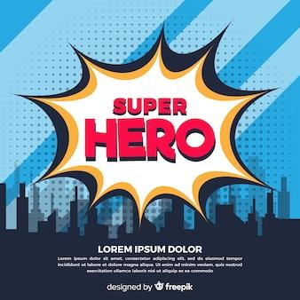 Полутона фоне супергероя