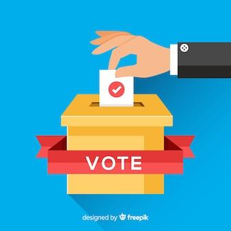 投票と選挙のコンセプト