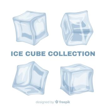 Современная коллекция кубиков льда