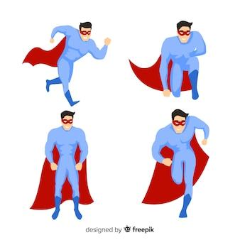 Мужской сборник супергероев