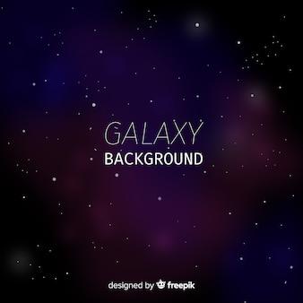 カラフルなスタイルの現代銀河の背景