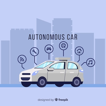 Концепция автономного автомобиля