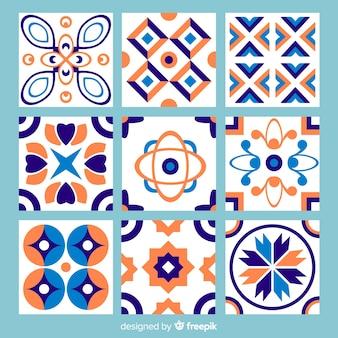 Красочные абстрактные плитки пакет