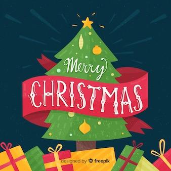 素敵な手描きのクリスマスレタリング