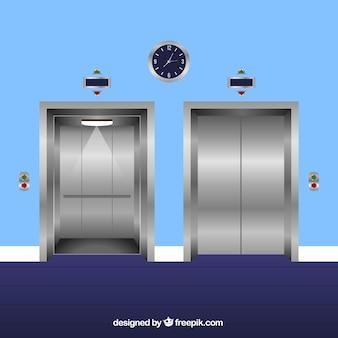 エレベーターセット