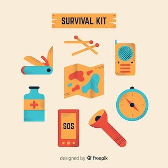 Творческий запасной комплект для выживания