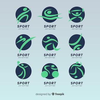モダンスポーツロゴコレクション