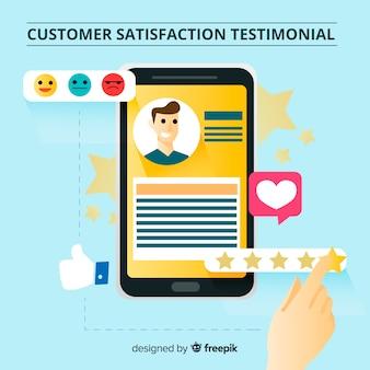 顧客満足度評価