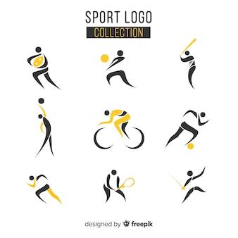 Коллекция современного спортивного логотипа