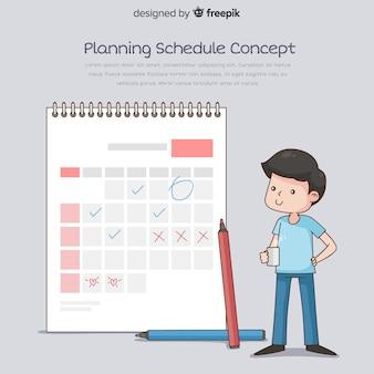 Прекрасная концепция планирования графика