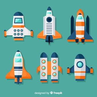ロケットのコレクション