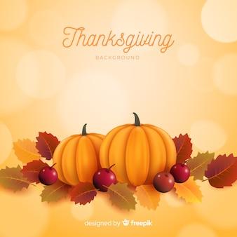 現実的な感謝の背景