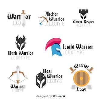 Коллекция логотипов современных воинов