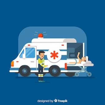 救急車のコンセプト