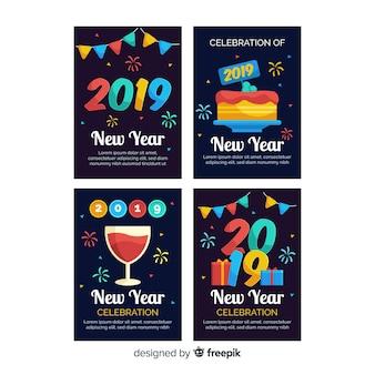 新年ガーランドカードパック