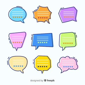 創造的な手描きの言葉の泡の証言