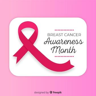 Розовый фон осведомленности о раке груди