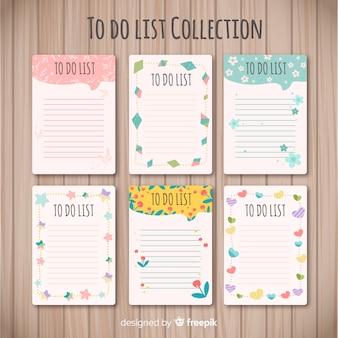 Современная коллекция списка с прекрасным стилем