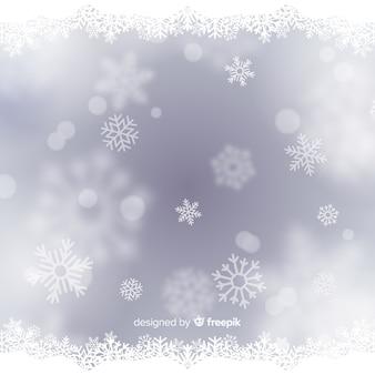 Рождественский фон боке
