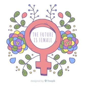 現代手描きフェミニズムの概念