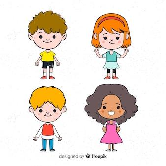 幸せな子供の日のキャラクターコレクション